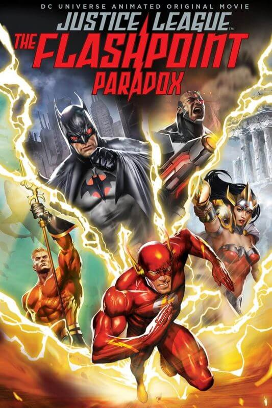 Episode 77: Justice League: The Flashpoint Paradox