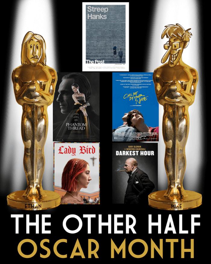 BONUS EPISODE: Oscars 2018 (+Dunkirk)